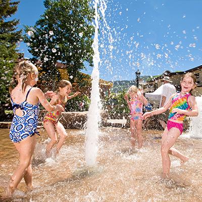 vail village splash pad