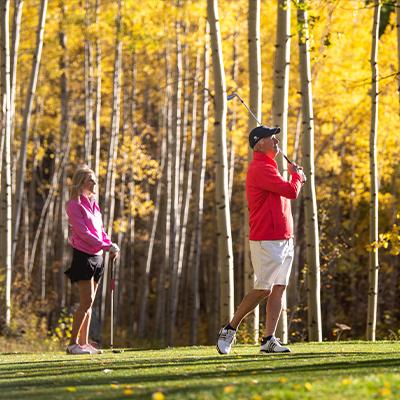golf in vail