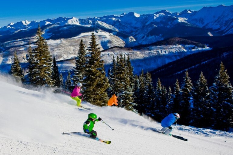 vail family ski vacation, how to, guide, Vail Mountain