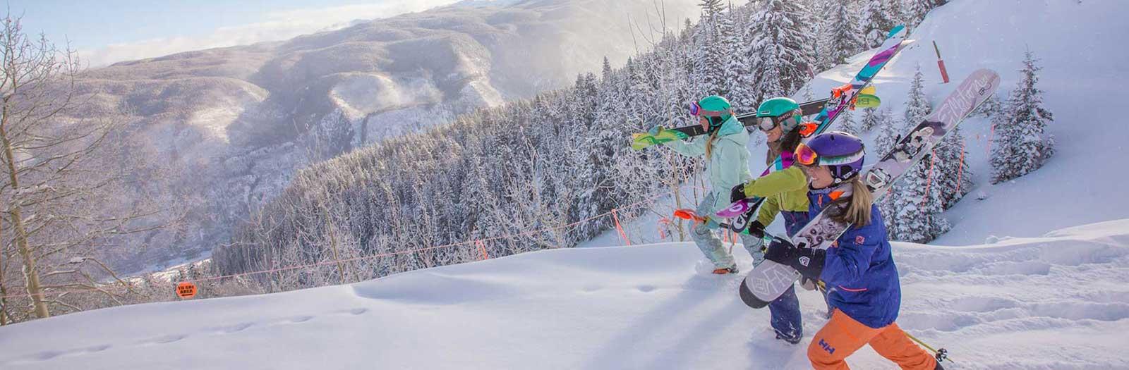 beginner ski vacations, deals on beginner skiing at top ski resorts