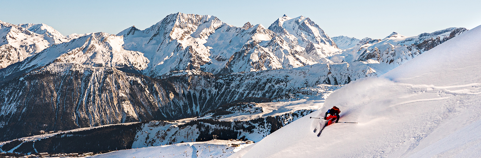 Courchevel Trail Map and ski map