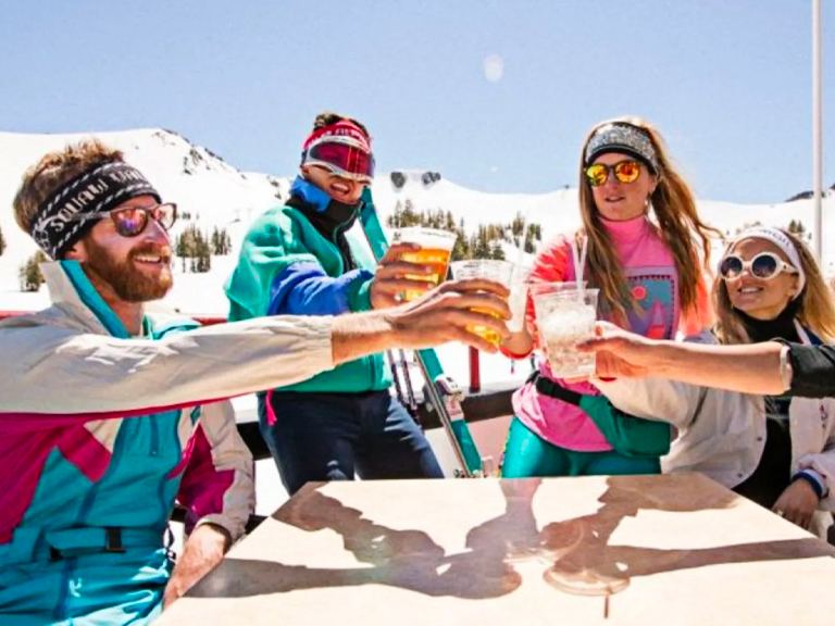 skiing, snowboarding, spring, vacation, ski trip, travel, accommodations