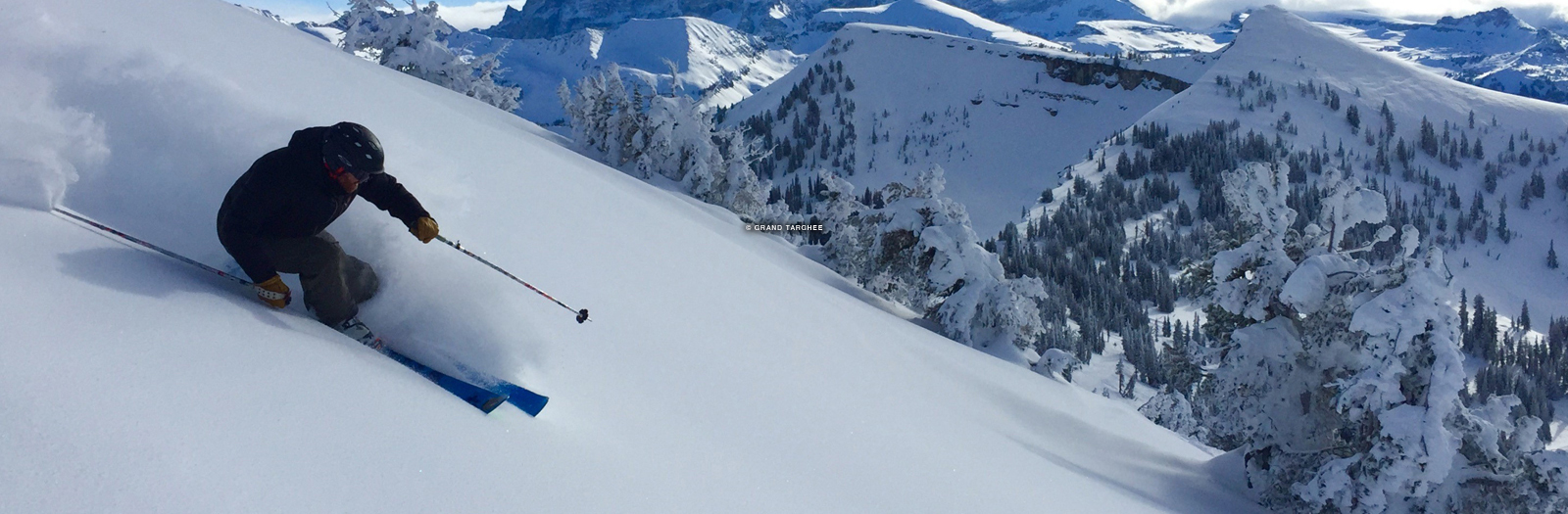 Grand Targhee Ski Resort, grand targhee wyoming, skiing in the tetons