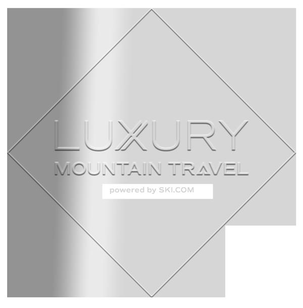 luxury mountain travel logo