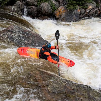 kayaking vail