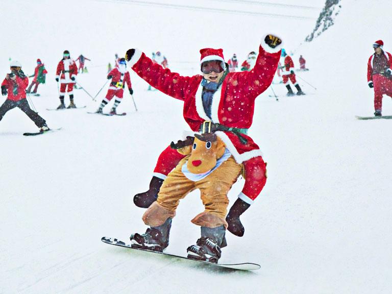 Where to ski on Christmas, New Years, the Holidays