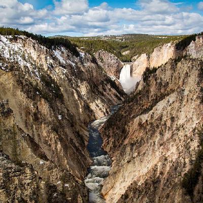 waterfall hike jackson hole