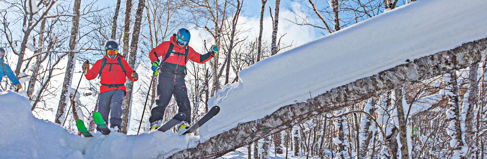 first time ski trip japan, guided ski japan, backcountry powder trip japan