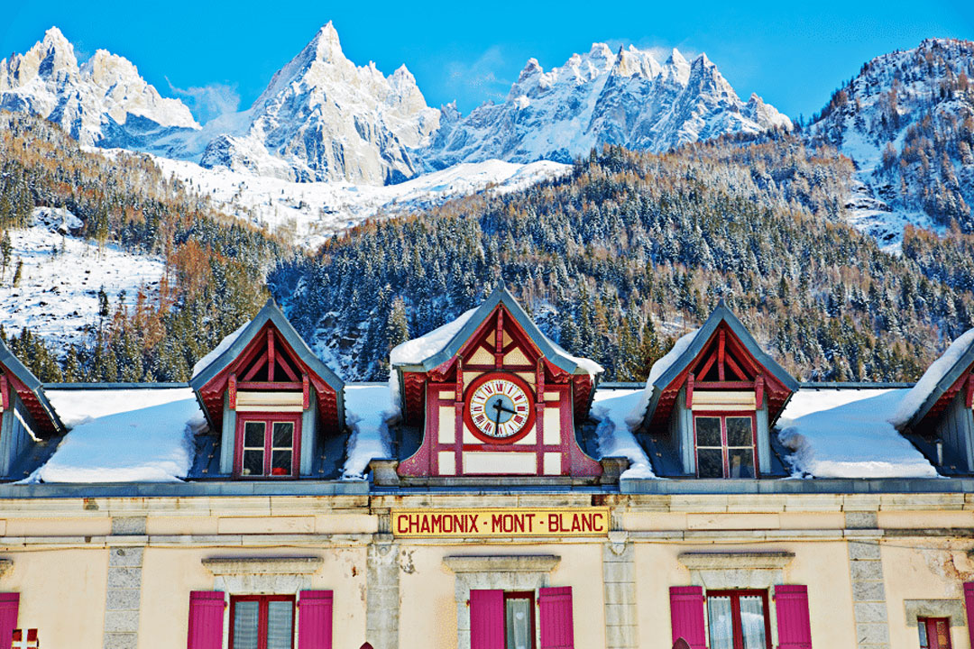 guided trip chamonix