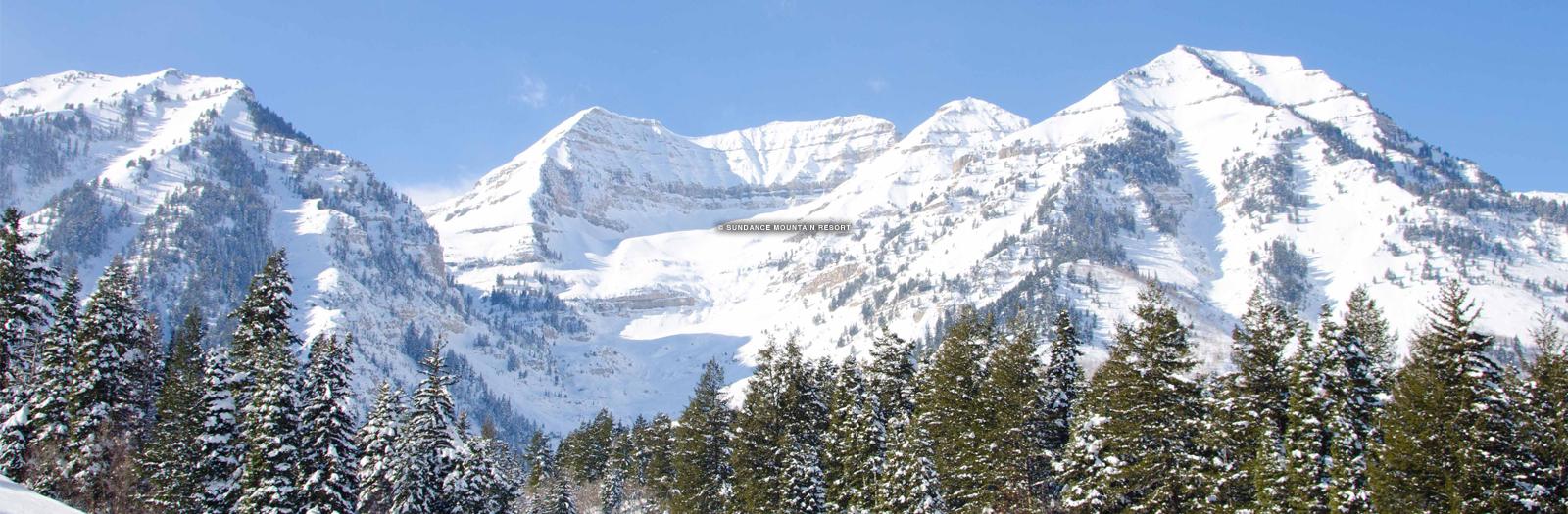 Sundance trail map, ski map