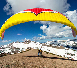 paragliding Jackson Hole