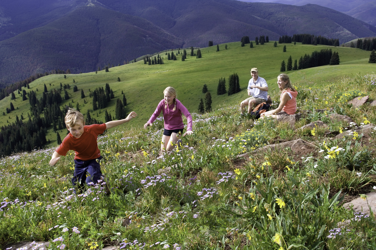 Hiking in Vail Colorado